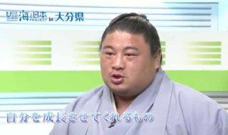 嘉風関インタビュー