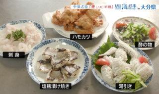 中津ハモ料理